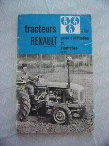 NOTICE ENTRETIEN TRACTEUR RENAULT R7051 D'EPOQUE