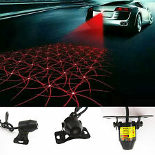 Anti Pileup Rear End Tail Fog Driving Laser Caution Light RED Decorative Pattern