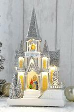 Musical Church Scene Animated Moving Light Up LED Christmas Decoration *2nds*