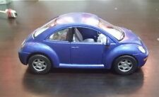 Volkswagen New Beetle toy car Diecast 1:32 Kinsmart blue
