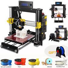 2018 3D DIY Upgraded Full Quality High Precision Reprap Prusa i3 DIY 3d Printer