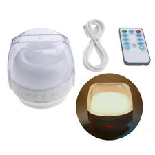 LED Night Light Rechargeable Bedside Lamp Timer Function 3 Color Lighting Modes