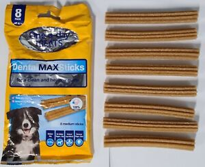 I Love My Pet Dog Dental Max Sticks Chews Snacks Treats 200g Pack Real Meat