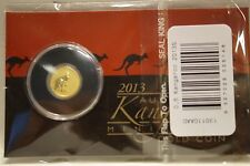 2013 0.5g 9999 Solid Gold Australian Kangaroo