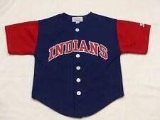 Cleveland Indians Vintage Starter Jersey T Shirt NFL USA Justice Size: M Tip Top