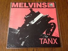 "Melvins Tanx 7"" Vinyl Record live BBC non lp! mudhoney! brown label 1st press!!!"