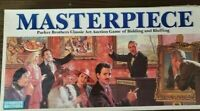 Vintage Complete 1987 Masterpiece Classic Art Auction Game of Bidding & Bluffing