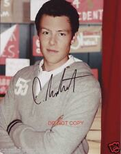 """Cory Monteith of TV Show Glee Reprint Signed 8x10"""" photo #2 RP Finn Hudson"""