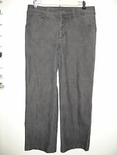 Lee Size 12 Short (33x29) Black Weathered Natural Staight Leg Jeans 19-8801