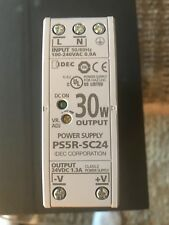 IDEC power supply. New Cat # PS5R-SC24 30W output 24 DC 1.3A  2 avail. $40.each
