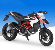 Maisto 1:18 Ducati HYPER MOTARD SP Motorcycle Bike Model New White