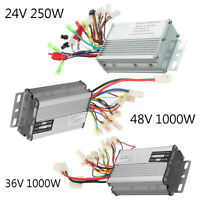 48V 1000W Electric Bicycle Brush Speed Motor Controller For E-bike /& Scooter