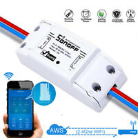 Sonoff Smart Home WiFi Wireless Switch Modle Monitor For IOS Android APP Control