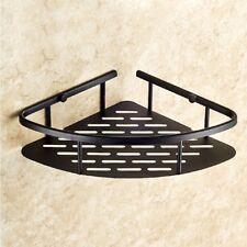 Oil Rubbed Bronze Wall Mounted Bathroom Large Corner Shower Storage Basket ZD533