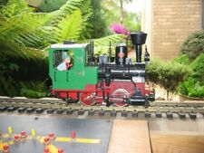 LGB G-Scale #21201/34070/37070/40470 Stainz Steam Locomotive & Cars Used