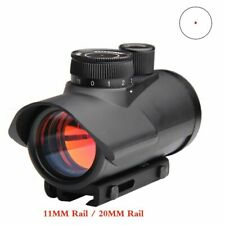 Sight Scope Holographic 1X30mm 11mm 20mm Weaver Rail Mount For Tactical Hunting