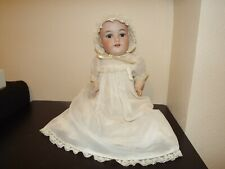 Antique Germany Armand Marseille Bisque Head #390 & Composition Baby 16 in.