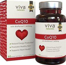 Cápsulas Para Aumentar Niveles De CoQ10 Naturalmente - De Coenzima Q10 400mg