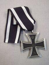 Preussen Eisernes Kreuz 2.Klasse 1914 mit Verleihungs Tüte und Band, Deutsch 1WK
