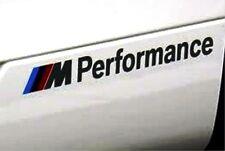 "363- BMW 1pc STICKER ""///M Performance"" Black SPORTS LOGO DECAL M POWER M3 M5 M6"