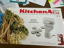 KitchenAid Pasta Press Stand Mixer Accessory 6 Pasta Plates Retail $179