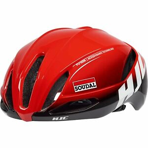 HJC Furion 2.0 Road Cycling Bicycle Cycle Bike Helmet Lotto Soudal Fade Red