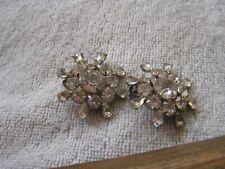 Vintage Garne Rhinestone Earrings