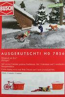 """Busch H0 7856 ACTION SET """"Ausgerutscht!"""" 1:87/H0 NEU/OVP"""