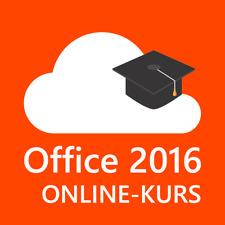 Online-Kurs Microsoft Office 2016 (Deutsch)
