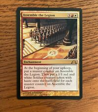ASSEMBLE THE LEGION X4 Mystery Booster//the List Magic MTG MINT CARD