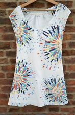 🔥🔥 WHITE STUFF Floral Cotton Tunic Dress Top 8 Spring Summer