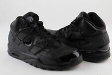 Nike Mens Air Trainer SC High QS Blk/Blk-Drk Grey 585125-007 Size 10 Pre-owned