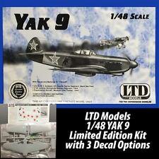 LTD Models 1/48 Yakolev Yak-9 Model Kit #9802 Limited Edition Series WWII