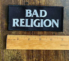 Bad Religion Embroidered Patch - california punk rock hardcore epitaph graffin