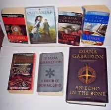 Lot 6 Outlander books + Season 1 DVD Diana Gabaldon Voyager Echo in the Bone ++