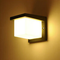 Outdoor 10W LED Wall Sconce Light Fixture Waterproof Lamp Cottage Walkway Garden
