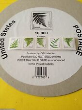 US Ferns Forever #4874-4878 Strip Of 5 without Back #, MNH