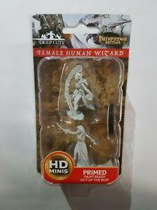 Female Human Wizard - D&D - Wizkids Deep Cuts Premium Miniatures