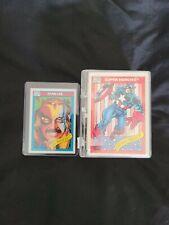 1990 Marvel Universe Impel Series 1 Complete Set 1-162 Cards NM
