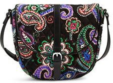 Vera Bradley Slim Saddle Bag Kiev Paisley 18071 646
