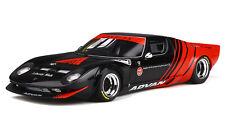 """LAMBORGHINI MIURA LB-WORKS """"ADVAN"""" BLACK & RED 1/18 GT SPIRIT FOR KYOSHO KJ033"""