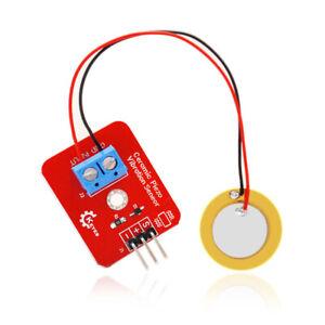 KEYES Analog Piezoelectric Ceramic Vibration Sensor Module for Arduino EU