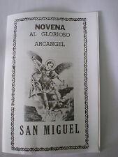 NOVENA AL GLORIOSO ARCANGEL SAN MIGUEL CONTIENE 12 PAGINAS RELIGION ESPIRITUAL