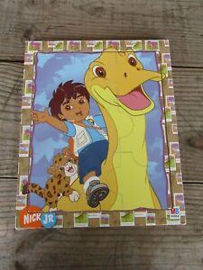 GO DIEGO GO frame puzzle rainforest Nickelodeon adventure 2007 WITH dinosaur