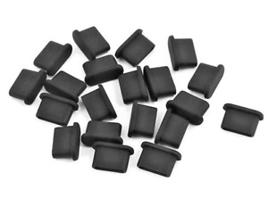 20stk Staubschutz Stöpsel Kappe USB Typ-C Silikon für Samsung Galaxy S20 S21 S22