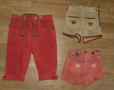 >>> 3x Mädchen- Trachten- LEDERHOSE / Trachtenhose in ca. Gr. 80 bzw. 110