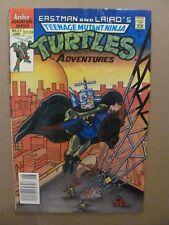 Teenage Mutant Ninja Turtles Adventures #21 Archie Canadian Newsstand $1.50