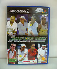 JEU PLAY STATION 2 COMPLET  SMASH COURT TENNIS PRO TOURNAMENT
