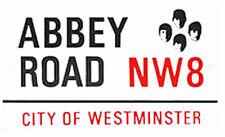 Neues AngebotAbbey Straße Medium Größe Emaille Schild ( Gg )