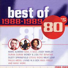 The Best Of 1988 - 1989 new 2 CD set Maxi Priest Ziggy Marley Morrissey Saxon et